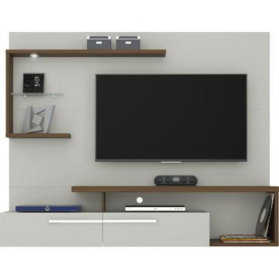 """Panel de TV 60 """" 182x34x146 Blanco/caramelo"""