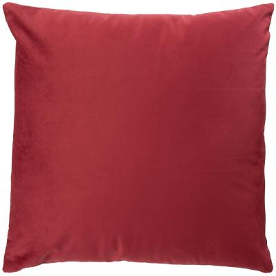 Cojín 40x40 cm rojo