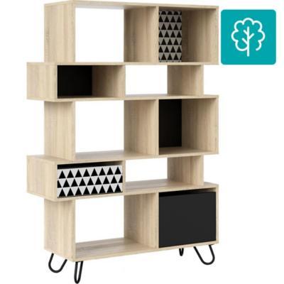 Librero maze 99x35x141 cm