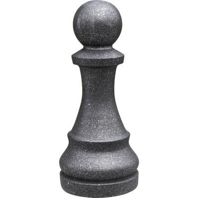 Figura ajedrez Peon 16x36 cm negro