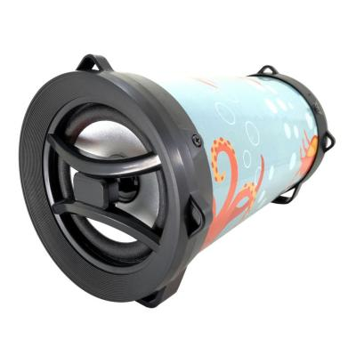 Parlante bluetooth con radio fm/tf octopus