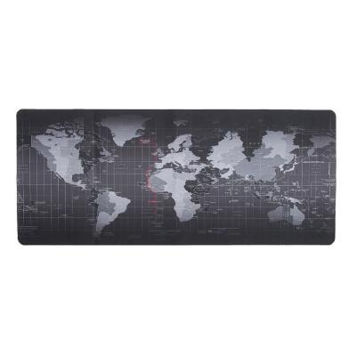 Mouse pad gamer diseño mundo mediano