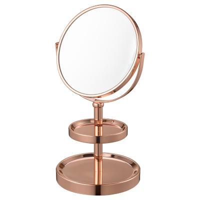 Espejo cosmético Gold 16 cm rose