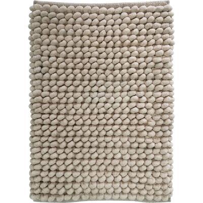 Piso baño algodón 40x60 cm beige