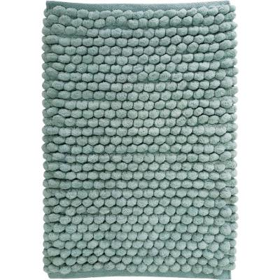 Piso baño algodón 40x60 cm aqua