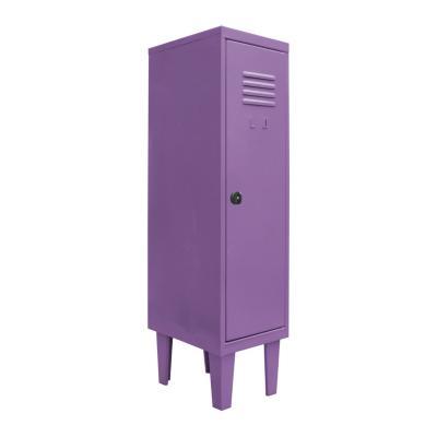 Locker kids 1 puerta 31x40x120 cm lila