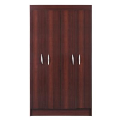 Closet 4 puertas bagua 170x95x38 cm café