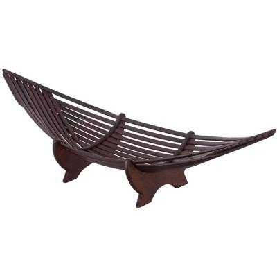 Centro de mesa bambu color café de  cm