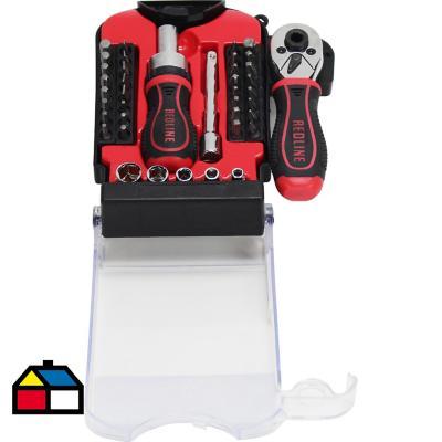 Kit atornillador 40 piezas