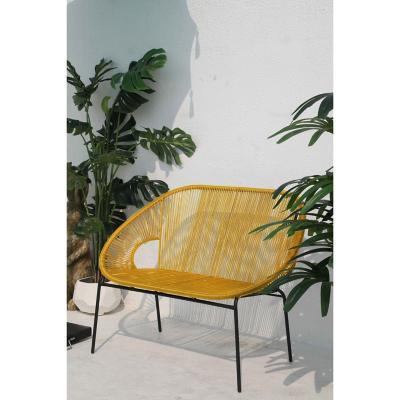Sofá terraza cozumel amarillo