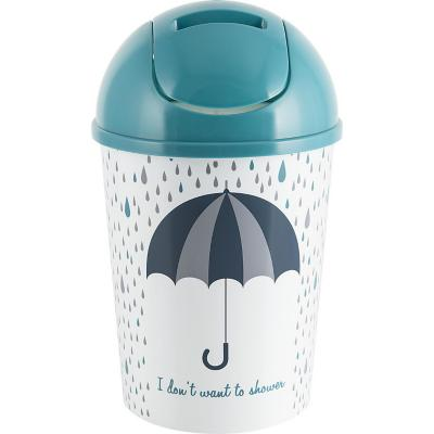 Papelero 4 l plástico Umbrella