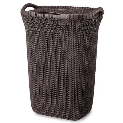 Cesto khipu 60 litros ratán plástico azul