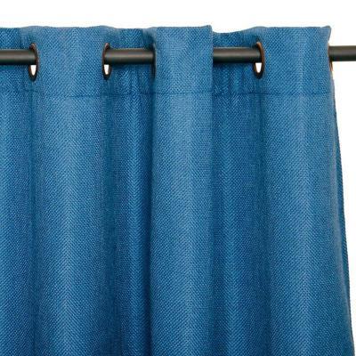 Cortina tela 140x225cm azul