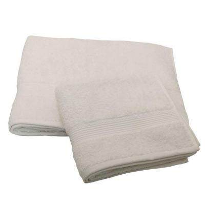 Set 2 toallas florentino 100% algodón blanco