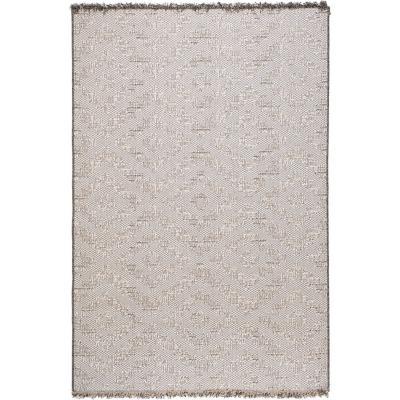 Alfombra Chiva forma 133x190 cm gris