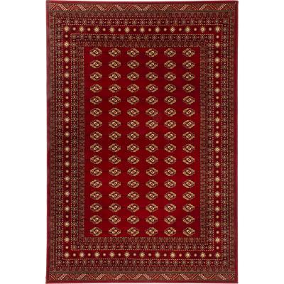 Alfombra Kendra bocara 160x235 cm rojo