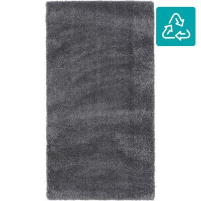 Bajada de cama shaggy touch 60x115 cm gris