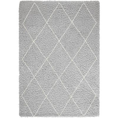 Bajada de cama shaggy Emma tri 60x115 cm gris