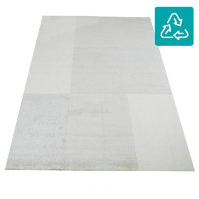 Alfombra siroc cuadros 120x170 cm gris/beige