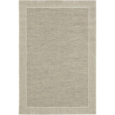 Bajada de cama Indy border 60x110 cm beige