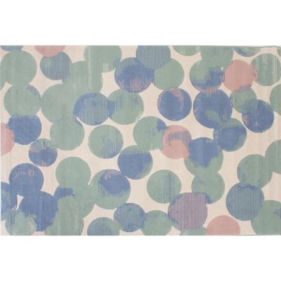 Alfombra canvas lunares 120x170 cm multicolor