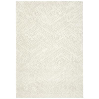 Bajada de cama siroc diagonal 60x115 cm beige