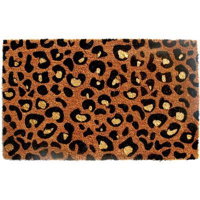 Limpiapiés Leopardo Glitter 45x75 cm
