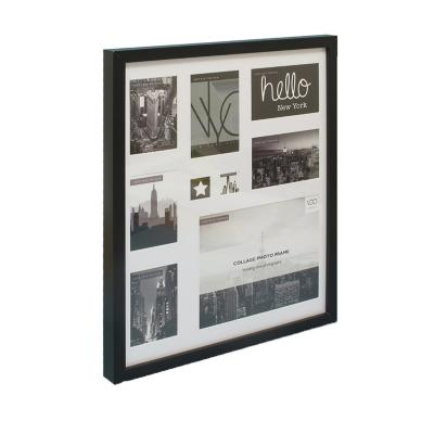 Marco foto 40x50 collage negro