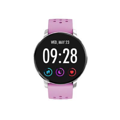 Reloj smartwatch deportivo SW60 morado