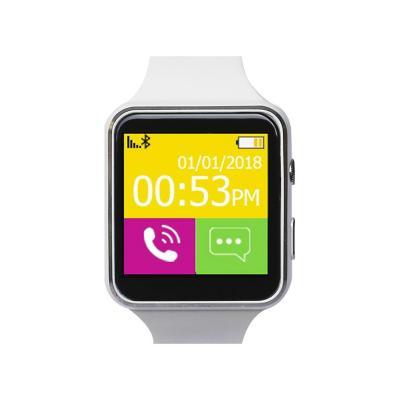 Reloj smartwatch P9 con cámara blanco
