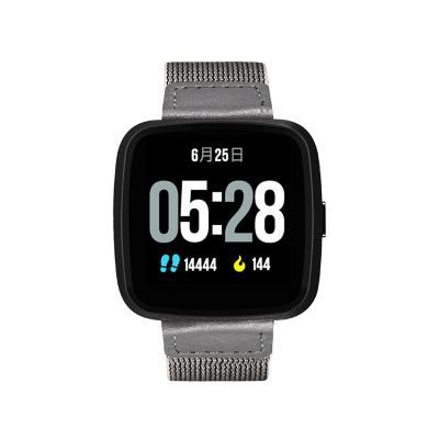 Reloj smartwatch G12 gris