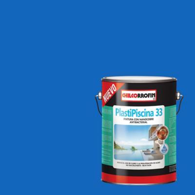 Plastipiscina 33 base agua con nano tecnología partículas de cobre azul Tahití galón