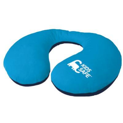 Protector de cuello azul polyester