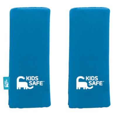 Pack cubre cinturón de seguridad azul polyester