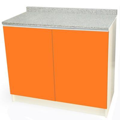 Mueble base 100x50 cm granito naranjo