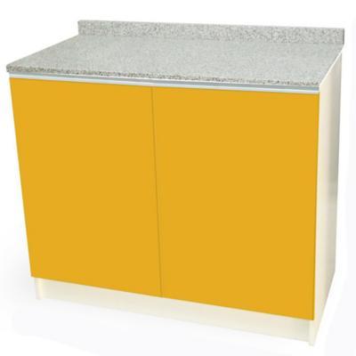 Mueble base 100x50 cm granito amarillo