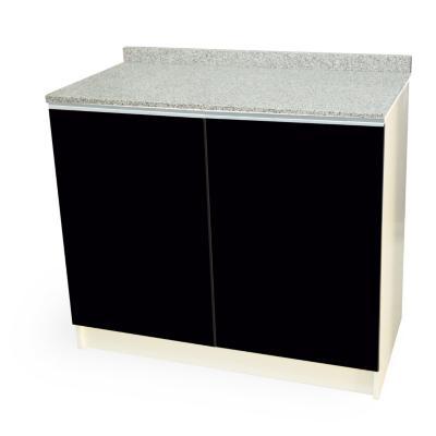 Mueble base 80x50 cm granito negro alto brillo