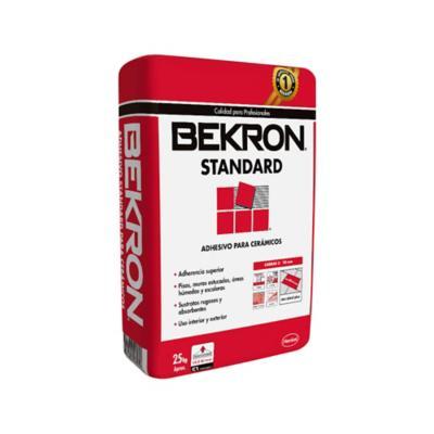 Adhesivo Ceramico Standard en polvo 25 Kg