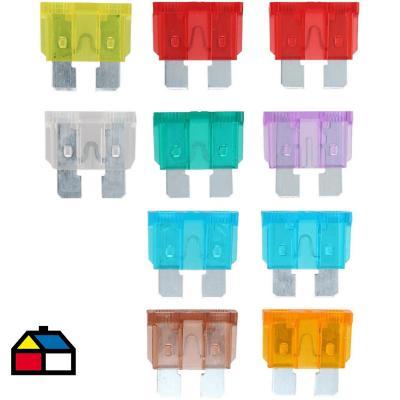 Set de fusibles 10 unidades