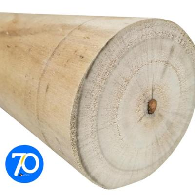 Rollete impregnado 2,5 a 4 - 75 a 100 mm x 2,60 m