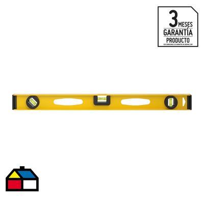 """Nivel de aluminio 24"""" amarillo"""