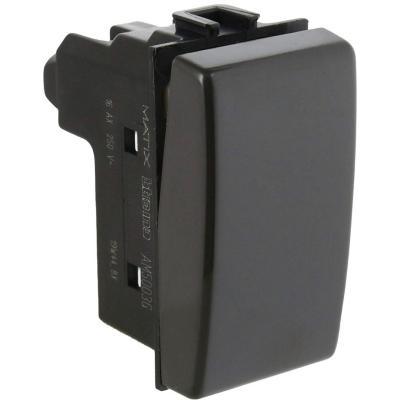 Módulo interruptor conmutador 9/24 16 A Gris