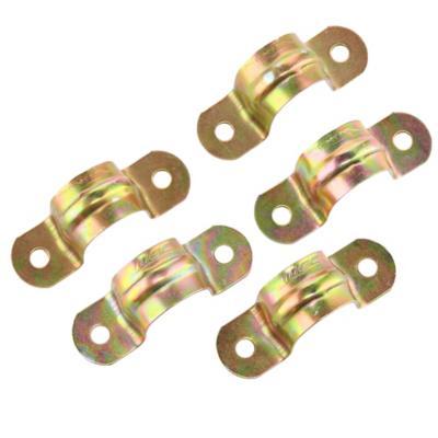 Set de abrazaderas 16 mm zincado 5 unidades