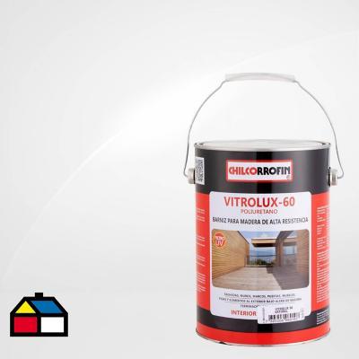 Barniz para madera brillante 1 gl transparente