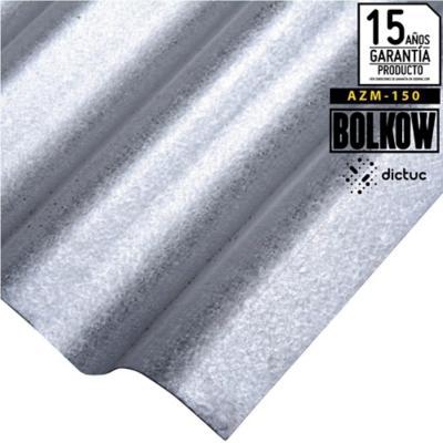 0.30 x 851 x 3660 mm, Plancha Acanalada Onda zinc gris