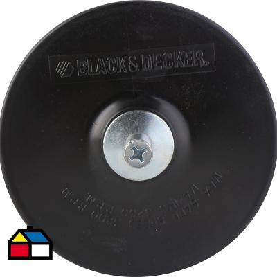 Plato de goma 125 mm para taladro