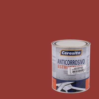 Anticorrosivo estructural opaco 1/4 gl rojo