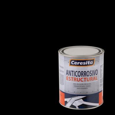Anticorrosivo estructural opaco 1/4 gl negro