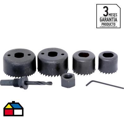 Set de brocas de sierra 4 unidades