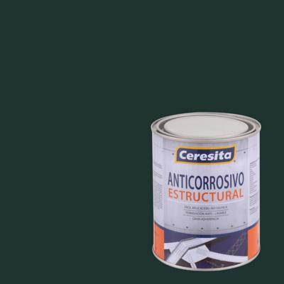 Anticorrosivo estructural opaco 1/4 gl verde